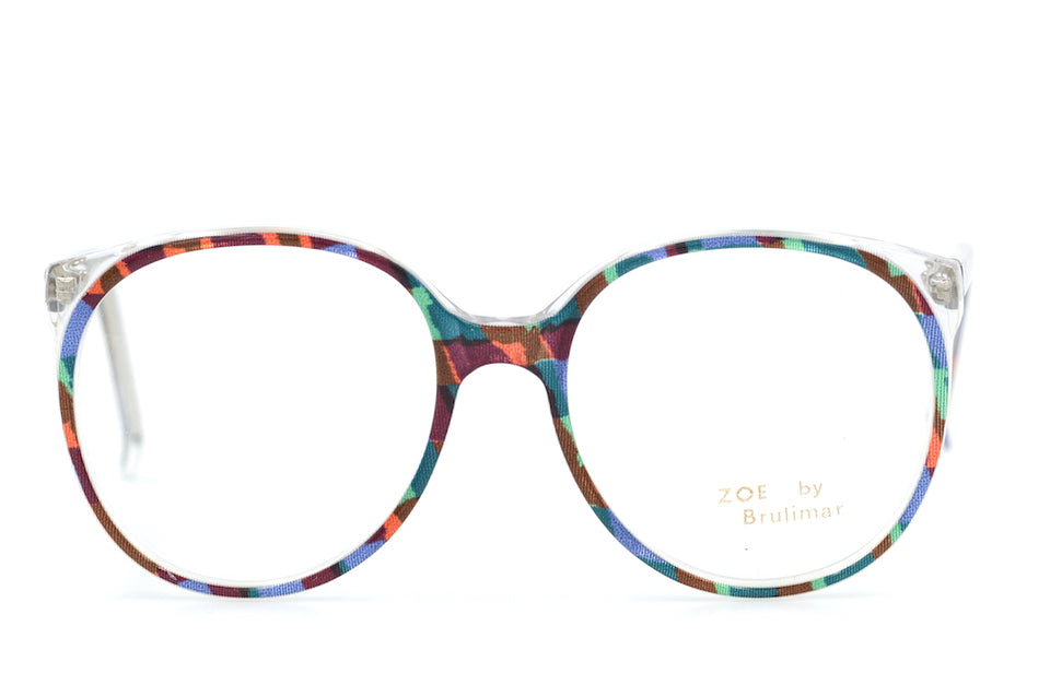 Zoe by Brulimar 2216. Oversized Glasses. Vintage Oveersized Glasses. 1980's Vintage Glasses. Sustainable Glasses.