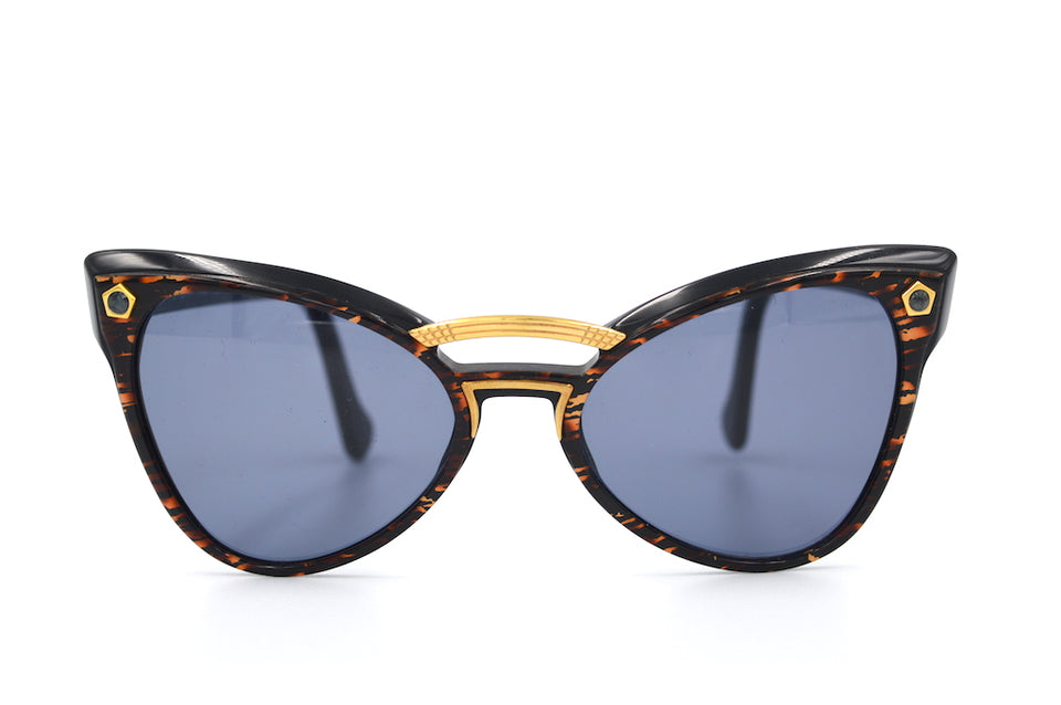 Yves Saint Laurent 6513 Y580 Vintage Sunglasses. YSL Sunglasses. Vintage YSL. Vintage Designer Sunglasses. Vintage Cat Eye Sunglasses.