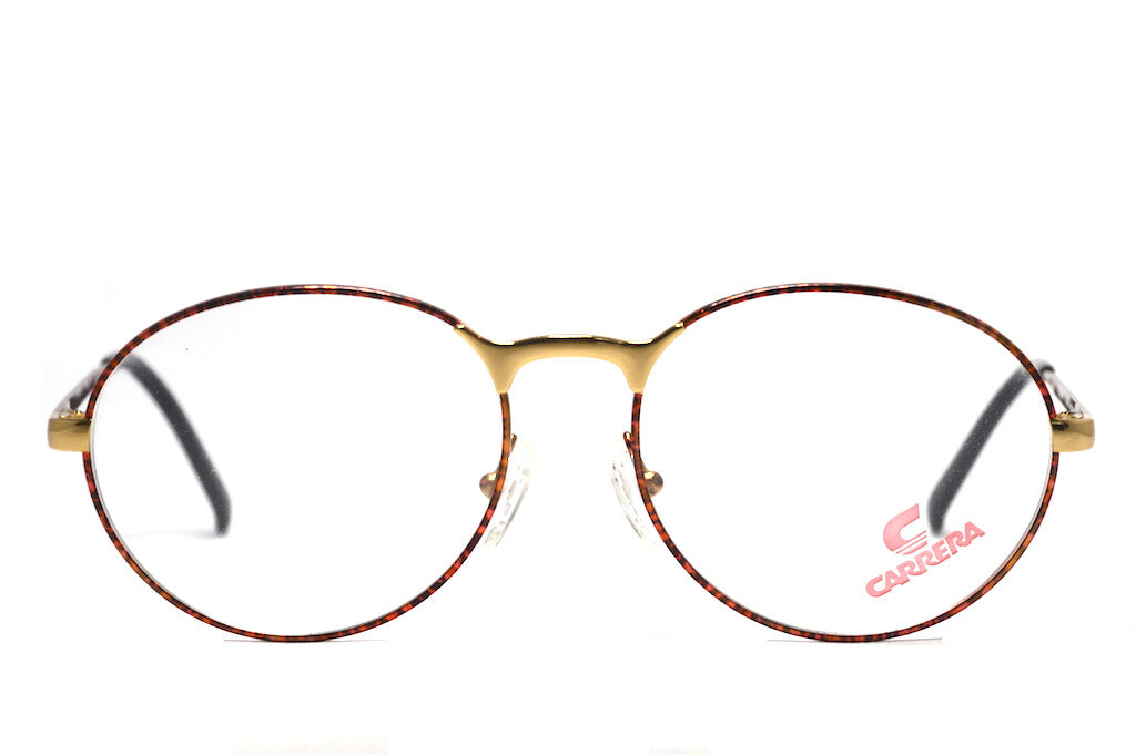 Original vintage Carrera 5366 glasses in red leopard print.