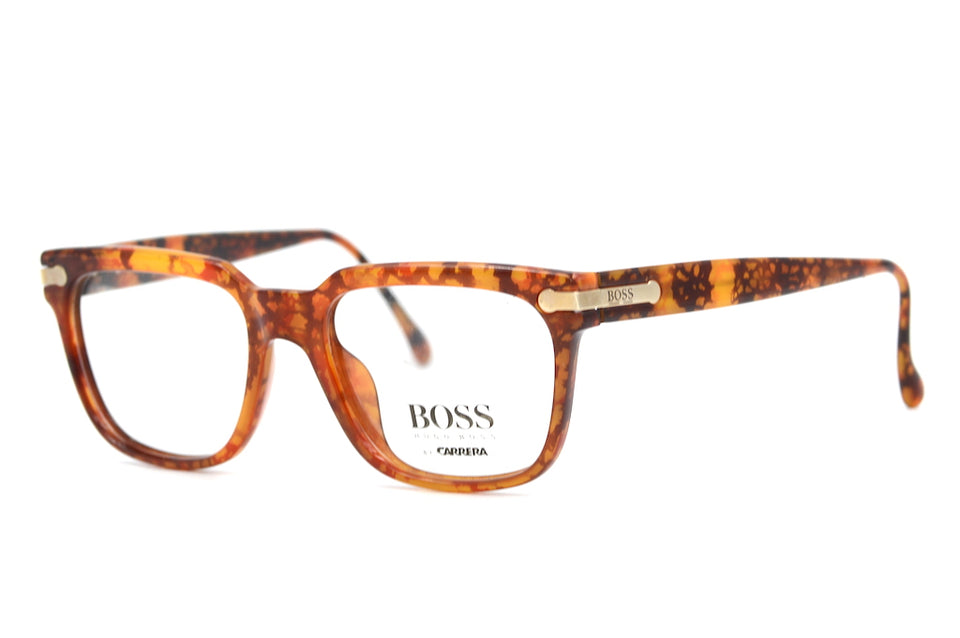 Hugo Boss by Carrera 5106 13 Vintage Glasses. Mens Vintage Glasses. Square Glasses. Stylish Glasses. Sustainable Vintage Glasses. Designer Vintage Glasses.