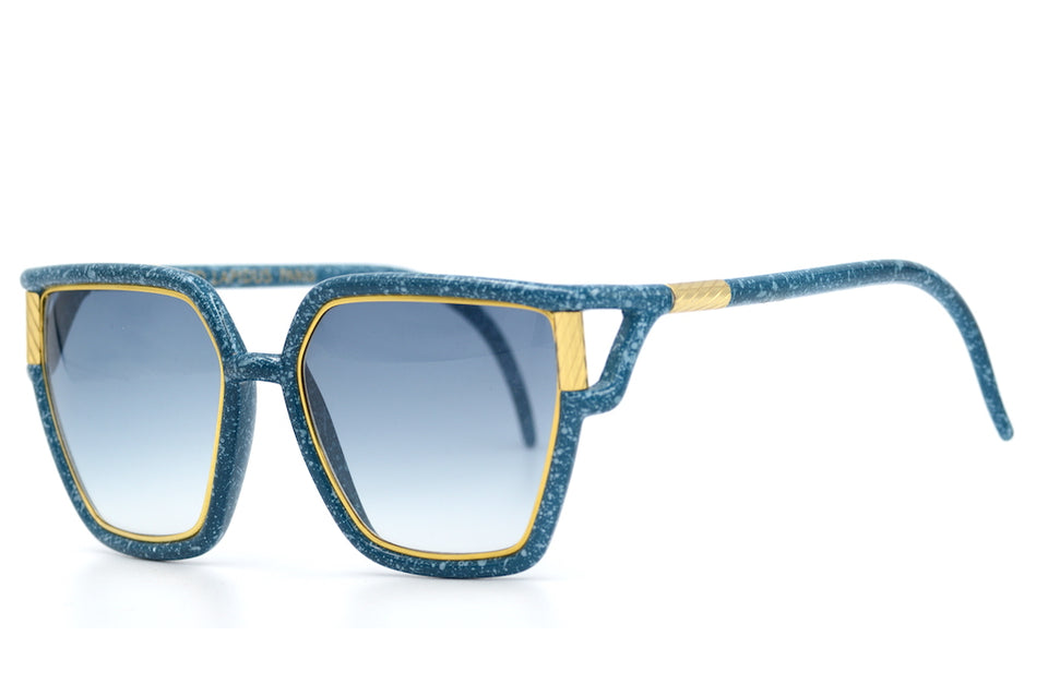 Ted Lapidus Teal Vintage Sunglasses. Oversized Sunglasses. Oversized Vintage Sunglasses. Ladies Vintage Sunglasses. Teal Sunglasses. Designer Sunglasses. Rare Vintage Sunglasses.