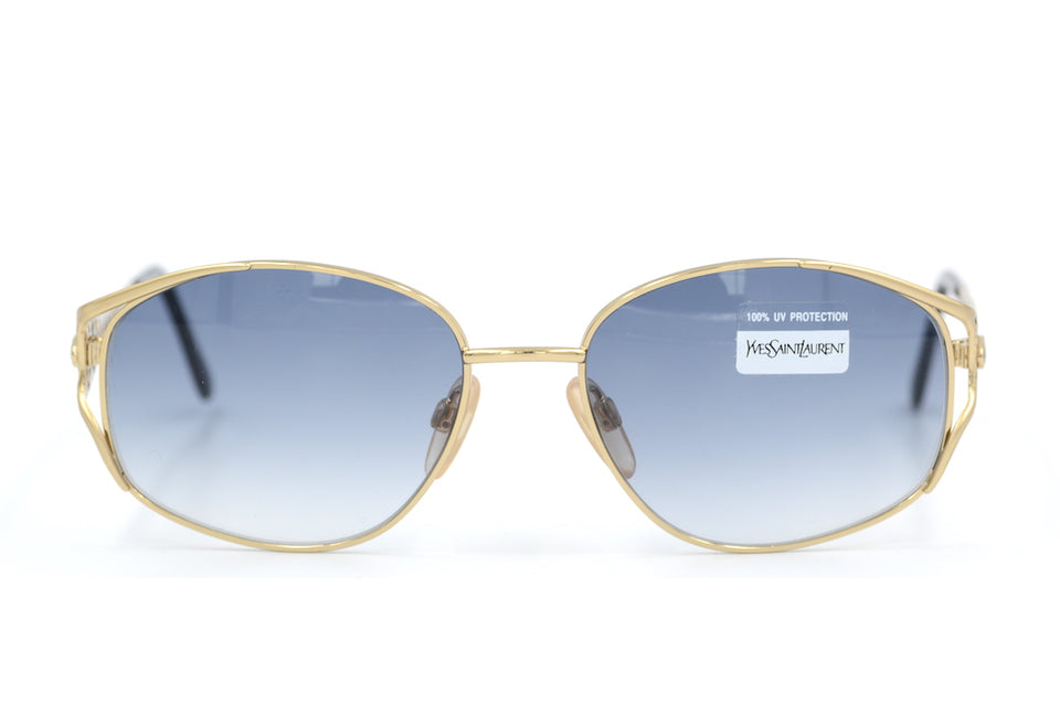 Yves Saint Laurent 6047 336 Vintage Sunglasses. YSL Sunglasses. Vintage YSL. Vintage Designer Sunglasses. Vintage Cat Eye Sunglasses. Buy Yves Saint Laurent Sunglasses Online.