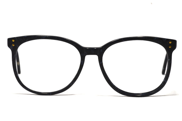 Charcoal Oversized Vintage Glasses