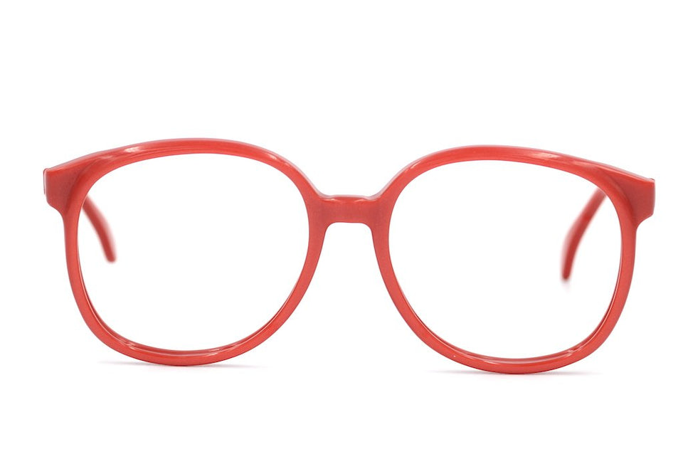 Cheslea by Michael Selcott red vintage glasses at Retro Spectacle