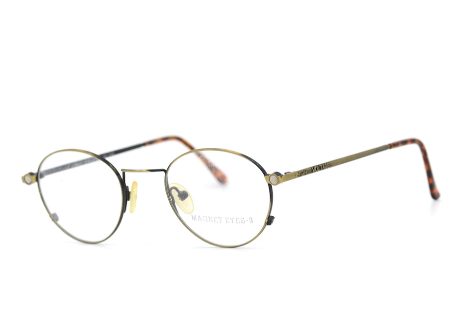 High Voltage round vintage glasses. Cheap Glasses. Cheap Vintage Glasses. Sustainable Glasses.