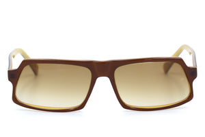 Oliver Goldsmith Paw Paw vintage sunglasses in gold sherry