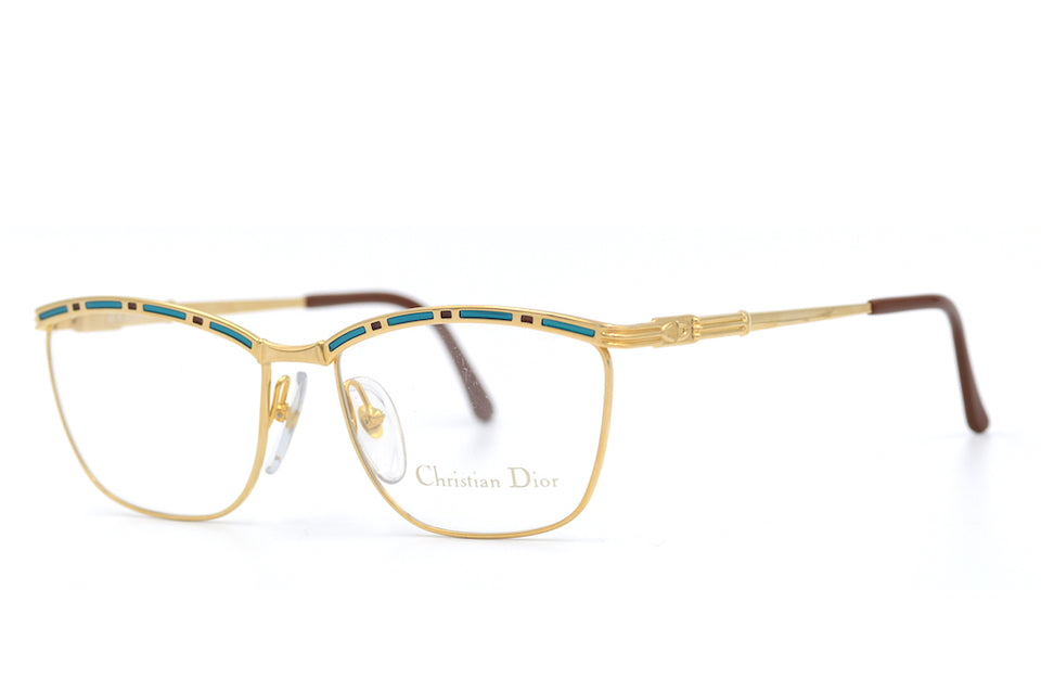 Christian Dior 2720 46 Vintage Glasses. 1980's Christian Dior. Ladies Vintage Glasses. Christian Dior Glasses. Rare Vintage Glasses. Luxury Designer Glasses. Luxury Eyewear. Sustainable Fashion.