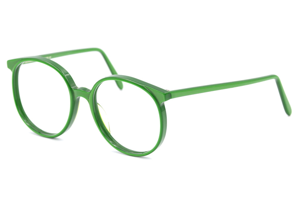 Anglo American Optical, Anglo American Optical 132, Anglo American Glasses, green glasses,