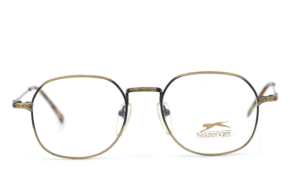 Slazenger 1005 vintage glasses. Vintage glassess. Mens vintage glasses. Sustainable Glasses. Men's Vintage Glasses. Retro Glasses.