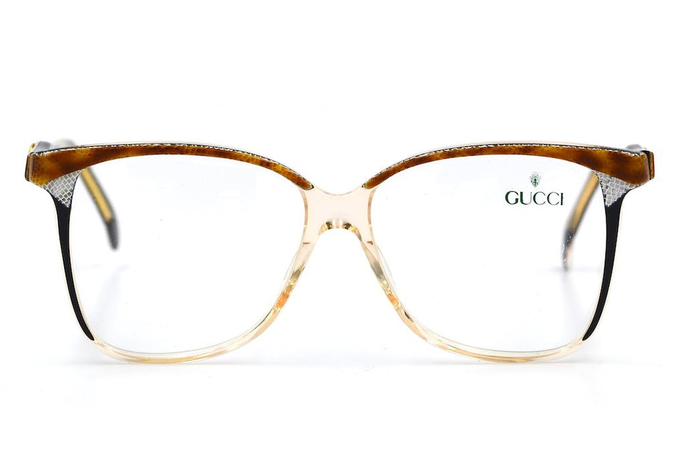 Gucci 2106 46B 57/15 Vintage Glasses. Vintage Gucci Glasses. Cheap Gucci Glasses. Oversized Vintage Glasses. Oversized Gucci Glasses.