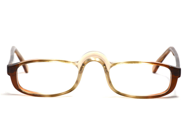 1970's mens vintage half eye glasses lincoln by invincta made in england
