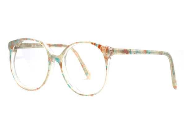 Front view Algha Interchangeable Vintage Glasses made in england