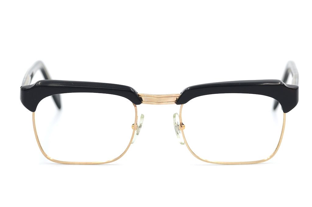 Trent by Merx gold filled men's vintage glasses at Retro Spectacle