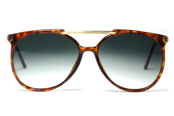 Front view Carrera 5332 1980's Vintage Sunglasses
