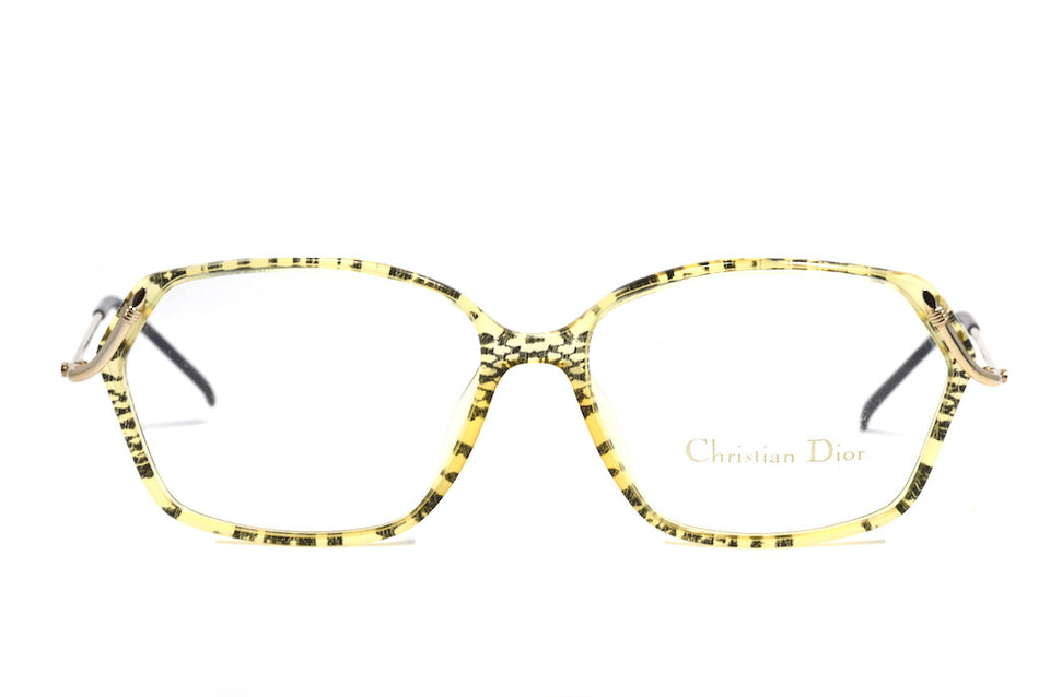 original vintage glasses 1980's Christian Dior 2595 90