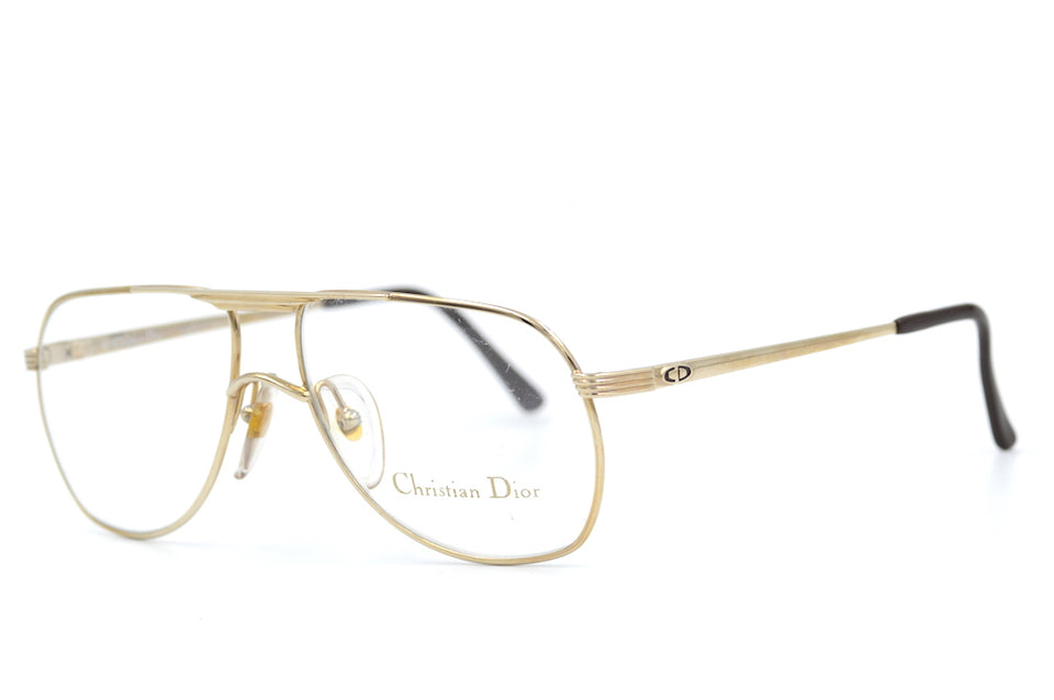 Christian Dior 2553 40 Vintage Glasses. Mens Christian Dior Glasses. Christian Dior Aviator. Mens Vintage Glasses. Mens Designer Glasses.