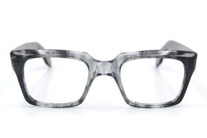 Elite Maurice Smoke Grey mens vintage glasses at Retro Spectacle