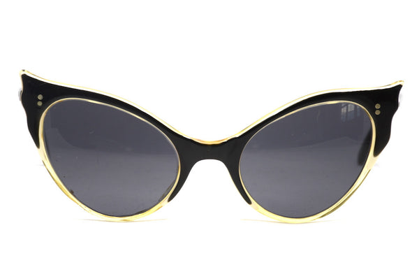 Ladies 1950's vintage cat eye sunglasses with UV protection