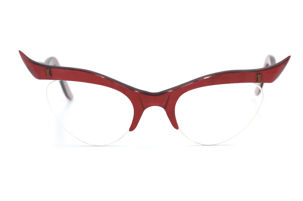 Eclectus 1950's ladies vintage glasses frame at Retro Spectacle