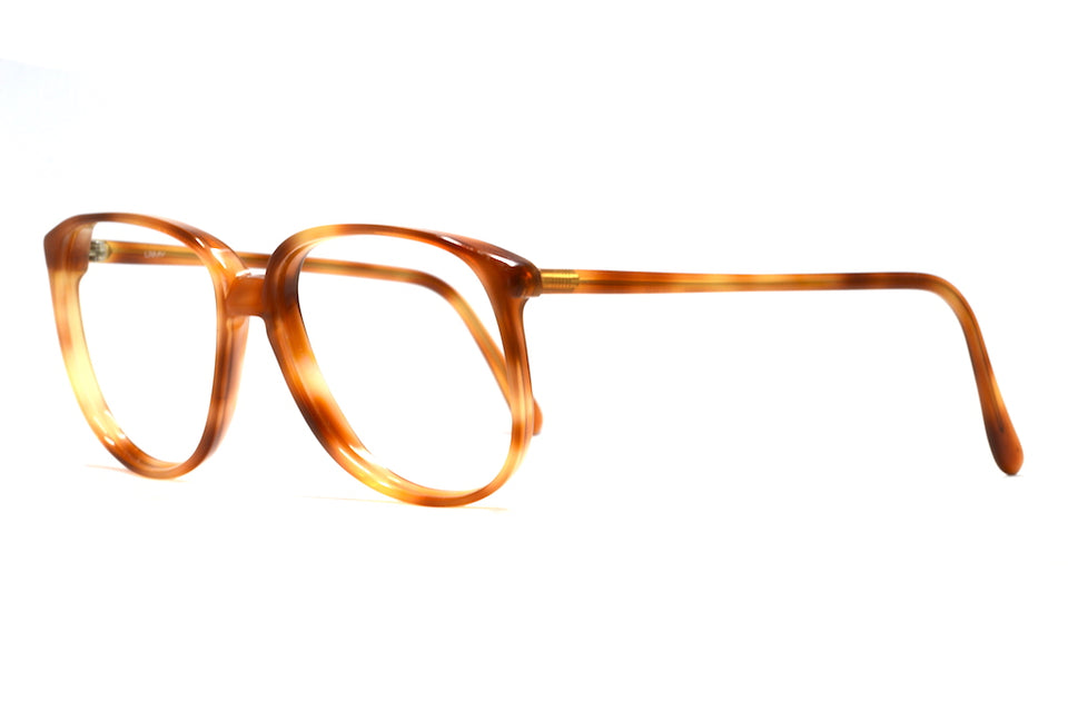 l'amy mathias, l'amy vintage glasses, brown vintage glasses, oversized vintage glasses, autumn leaf vintage glasses, retro spectacles, retro glasses, vintage glasses