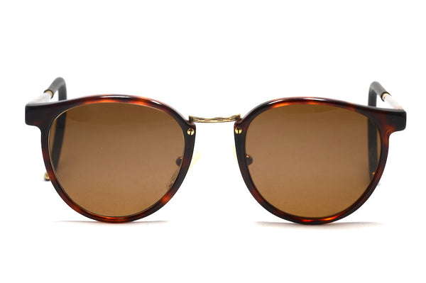 EuroOptics Unisex Curl Side Vintage Sunglasses made in France