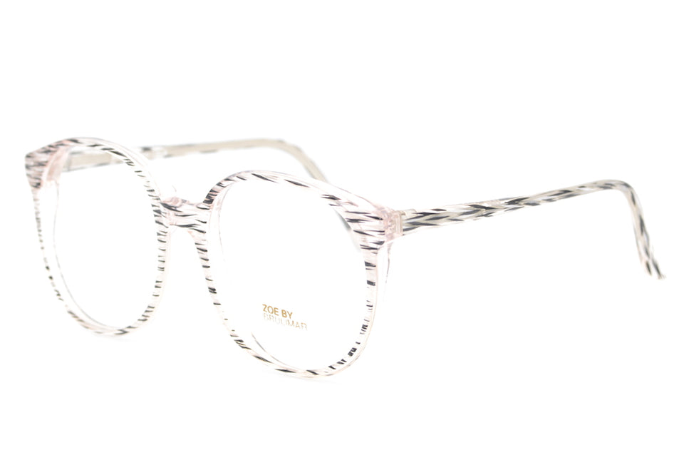 Zoe by Brulimar, Oversized vintage glasses, oversized glasses, multi coloured glasses, 1980s glasses, sustainable eyewear