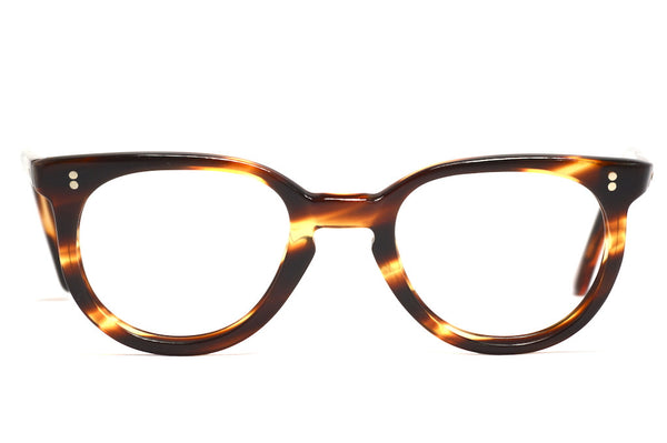 Front view of unisex NHS 1970's vintage glasses