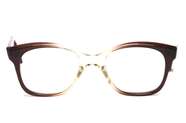 Front view of Earl, 1970's mens original vintage glasses