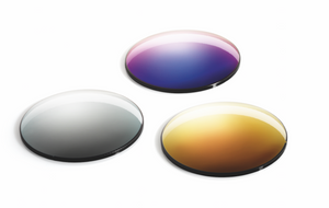 Single Vision Lenses with Gold Mirror Coating