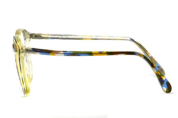 Side view 1980's Jonathan Sceats Australia vintage glasses frame