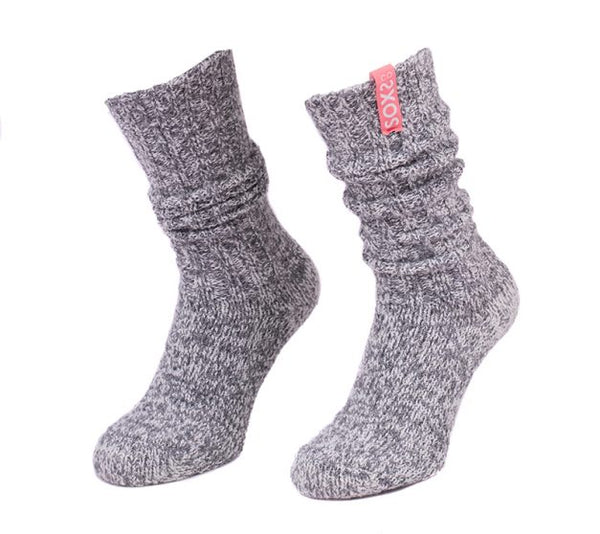 Soxs Girls High Grey