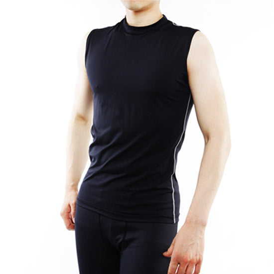 Sleevless men underlayer shirt