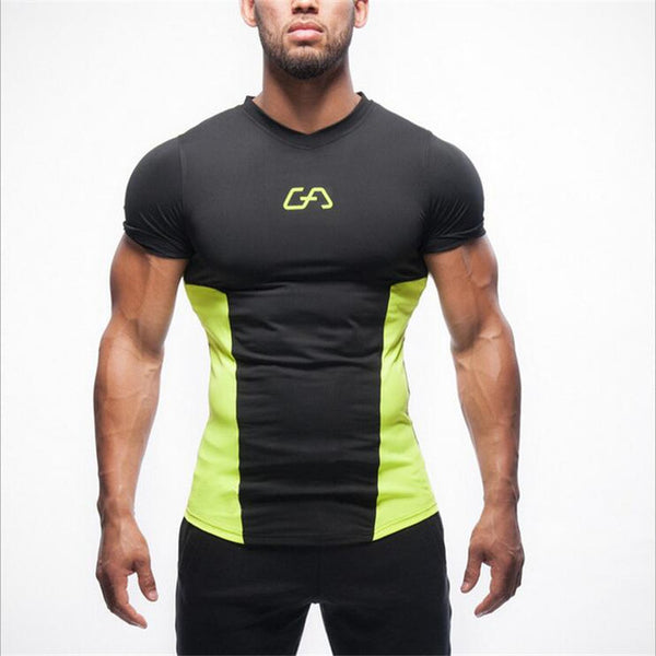2017 new arrival  Leisure Men Tees  Print   stringer T-shirt man fitness bodybuilding and fitness jerseys tank shirt, sportswear