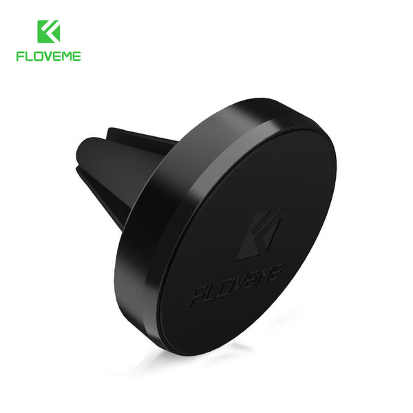 FLOVEME Magnetic Phone Car Holder Air Vent Mount Magnet Smartphone Dock Phone Stand Alloy GPS Bracket Holder For Iphone 7 6 Plus