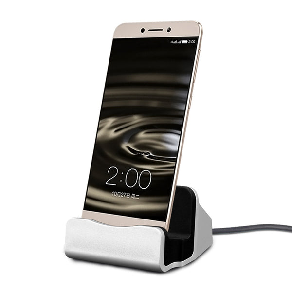 Magnetic Desktop Charging Charger Cradle Sync Dock Stand For Type-C Smartphone