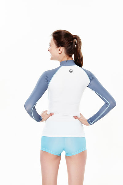 UVX Basic Circle woman rash guard t-shirt