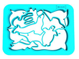 One Piece Cookie Cutter - Sea Animals (Blue)