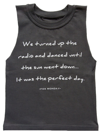 Tank or T-Shirt - Perfect day