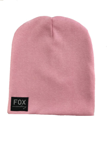 Slouch Beanie - Baby pink
