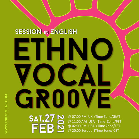 ETHNO VOCAL GROOVE 27/02 in ENGLISH