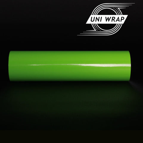 Uni Wrap Gloss Vinyl 'Apple Green'