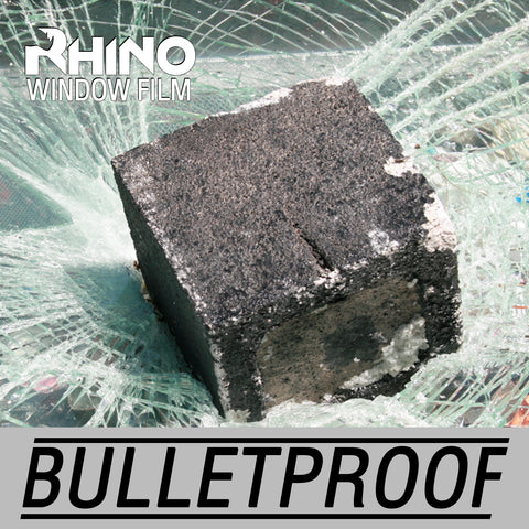 Bulletproof Clear Safety Window Film