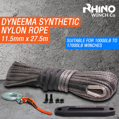 Synthetic Dyneema Rope 11.5mm x 30m