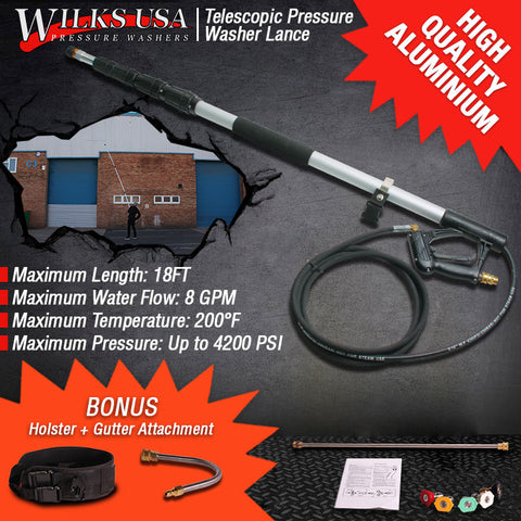WILKS-USA Telescopic Lance
