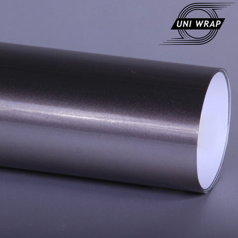 Uni Wrap Candy Metallic Gloss Vinyl 'Grey'