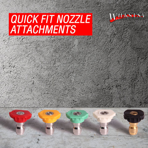 Quick Fit Connect High Pressure Spray Nozzles