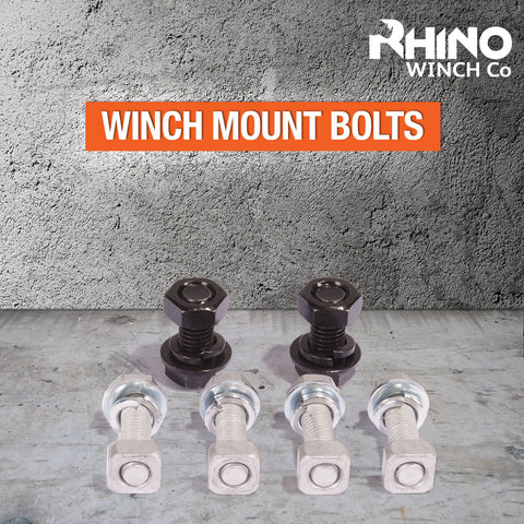 Rhino Winch Mount Bolt Set