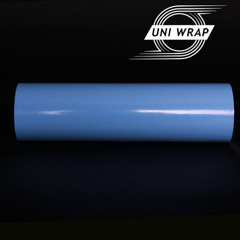 Uni Wrap Gloss Vinyl 'Light Blue'