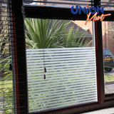 Lines Frosted Window Film