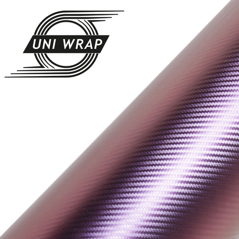 Uni Wrap 3D Chameleon Carbon Fibre Vinyl 'Purple/Blue'